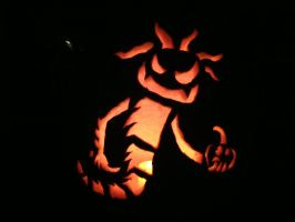 2012 Pumpkin Carving by Qille