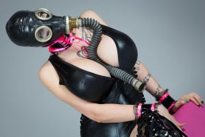 Gas Mask Beauty by Ariane-Saint-Amour
