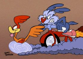Tiny Toon Chase by jpox