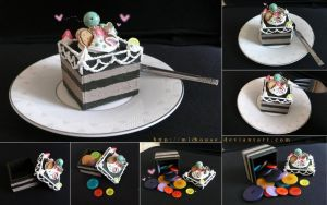 lolly choco mousse cake by michouse