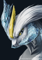 White Kyurem by Silverbirch