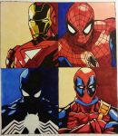 Marvel Likes Primary Colors by cowswithguns123