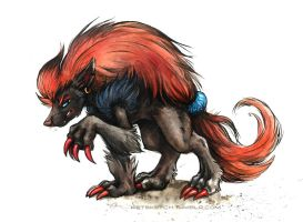 Zoroark by kenket