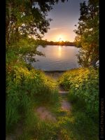 Coate Water Revisited by GMCPhotographics