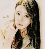 IU drawing by Vi0nn4