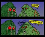 ManThing VS SwampThing by Lordwormm