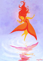 flame princess by mayakern