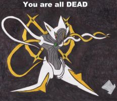 Deoxys Attack-Form is an Arceus by MadHatter-Himself