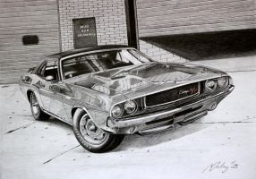 Dodge Challenger RT 1970 by Mipo-Design