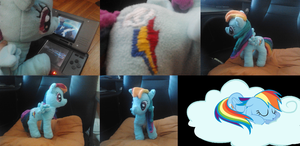 my first mlp plush by lorduria