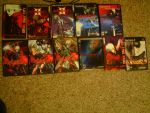DMC cronological collection by Crimson-Knight77