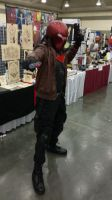 Red Hood- Baltimore Comic Con 2014 by chrisrubenstahl
