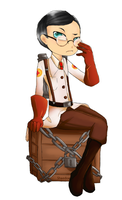Sticker Medic by Shaedoe