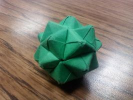 Another Origami Ball by GoldWinds