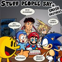 Stuff people say 122 by FlintofMother3