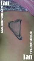 Harp by SimplyTattoo