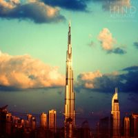 The tallest building. .. by light-from-Emirates