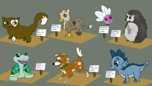 Pony pet adoptables by Fortitudine-Shelter