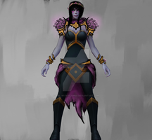 Templar Assassin armor set by girl-with-flower