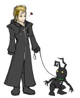 Demyx and a Shadow by alyssafew