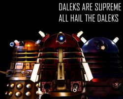 The Daleks Wallpaper by Lordstrscream94