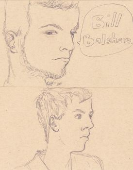 Bill and Alex by hanban