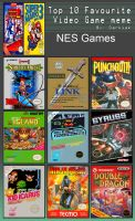 Johnny's Top 10 NES Games by JohnnyOTGS