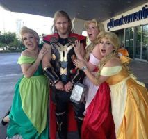 Gaston has some competition! by tanyacat91