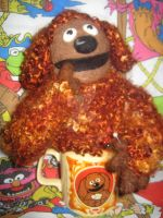My Needle Felted Rowlf from The Muppets by CatsFeltLings