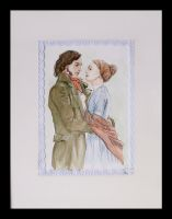 Jane Eyre and Mr Rochester by AurianMoonriver