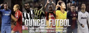 Guncel Futbol Facebook Cover by KemalEkimGraphic