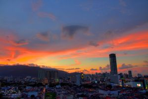 Sunset of October the third - Penang by fighteden