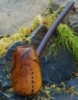 Dragon Egg Pipe Rusticated by FloggleWerks