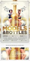 Models And Bottles Flyer Template Vol.2 by saltshaker911