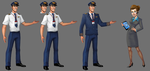 Luxury Jet Set Slots - Characters by effektdmentality