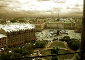Glance at Petersburg by Ilyich