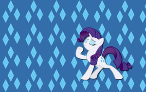 Cutie mark Rarity wallpaper by AliceHumanSacrifice0