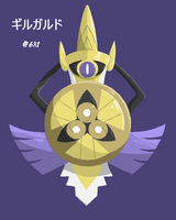 #681 Aegislash by Reaper-Mcasaurus