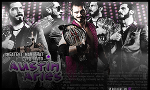 Austin Aries Signature by SoulRiderGFX