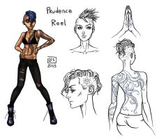 Small Reff-sheet_Prudence Reel by BlackBirdInk