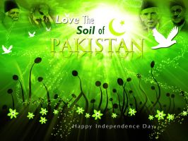 Love the soil of Pakistan by maniPakistani