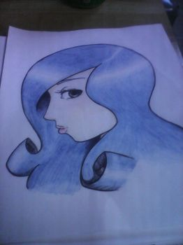 Some Blue-haired Girl by 4-29