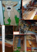 My Own Photobook Lion King Comic Book! by Daniellee14