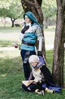 FE:A Virion and Henry- Day at camp by FyreGothChylde