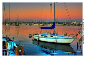 Morning in the Harbour by Bartonbo