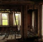 Abandoned House Stock by Sannalee01