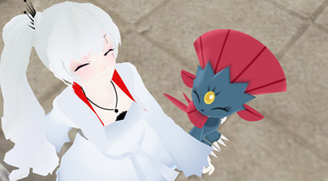 MMD: Weiss and Weavile by DigiRadiance
