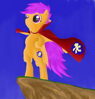 Crusading Scootaloo by RunbowDash