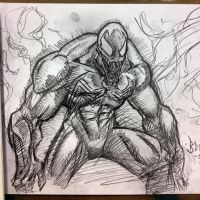Venom con sketch by MetaWorks