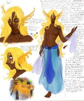 Sol character page by E1L0n3wy